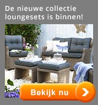 De nieuwe collectie loungesets is binnen!